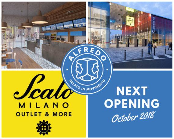 Alfredo Gelato: New Opening a Scalo Milano il 27 Ottobre