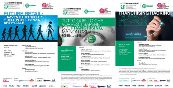 Federfranchising: i WorkShop  in Fiera del Franchising Milano