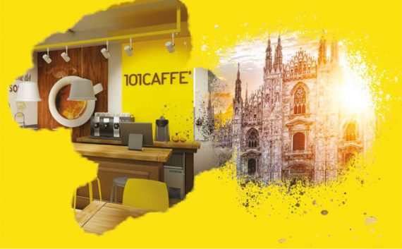 101Caffe' al Fuorisalone di Milano incontra il Design