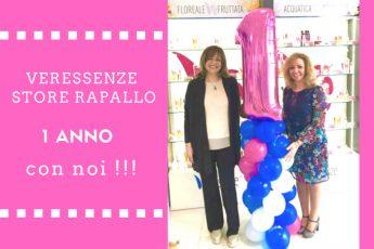 Veressenze: Anniversario dello store di Rapallo imprenditrici soddisfatte