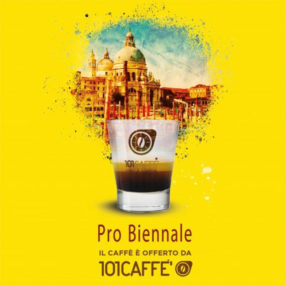 101Caffè a Venezia: Partner di Pro Biennale, a cura di Vittorio Sgarbi