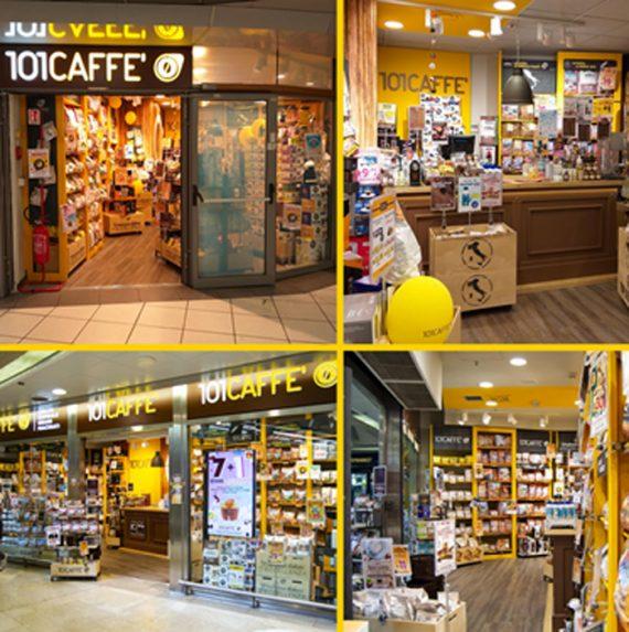 101Caffè debutta nel Travel Retail a Milano Centrale e Roma Termini