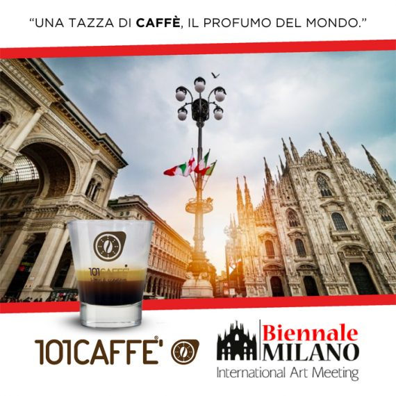 101Caffè a Biennale di Mlano International Art Meeting