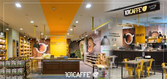 101Caffè a Milano da Host al Salone del Franchising dal Food Retail al Food Service