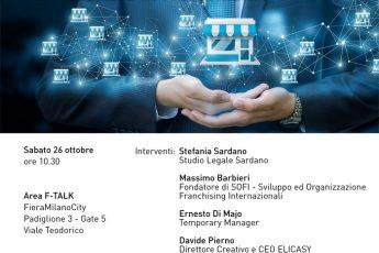 Federfranchising: La tutela del Marchio- Workshop al salone di Milano del Franchising 26.10.2019