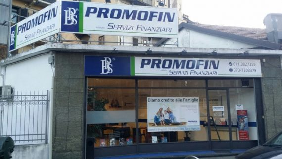 PROMOFIN agenzia servizi Finanziari apre a Torino.