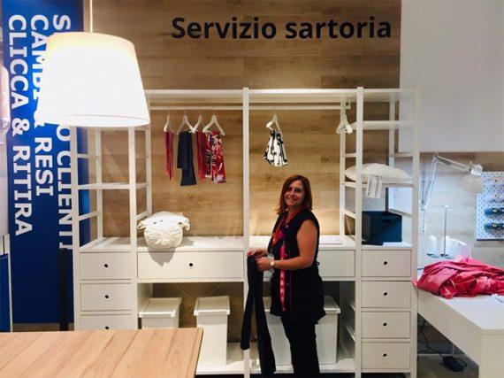 SOS SARTORIA DA IKEA: L'APERTURA A SALERNO