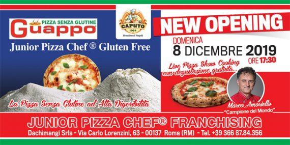 Junior Pizza Chef®Gluten Free Franchising apre a Roma