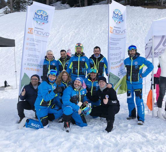 KE Novo sponsor ufficiale NAST (Nazionale Artisti Ski Team)