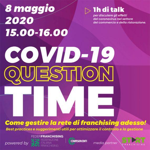 Federfranchising-Confesercenti: Covid19 Question Time: Come gestire la rete di franchising adesso!