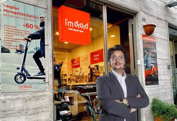 I'm Droid: il primo brand in franchising per vendita e assistenza per monopattini elettrici