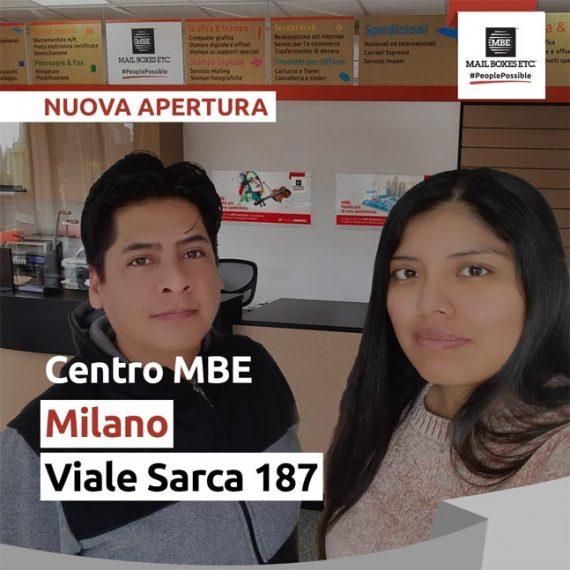 Apertura del nuovo Centro MBE 3114 a Milano in zona Bicocca